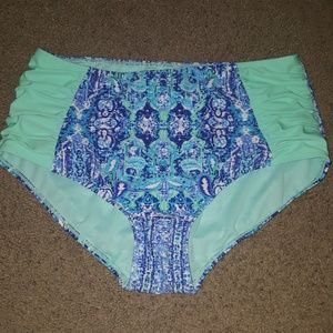 Other - High wasted bikini bottom